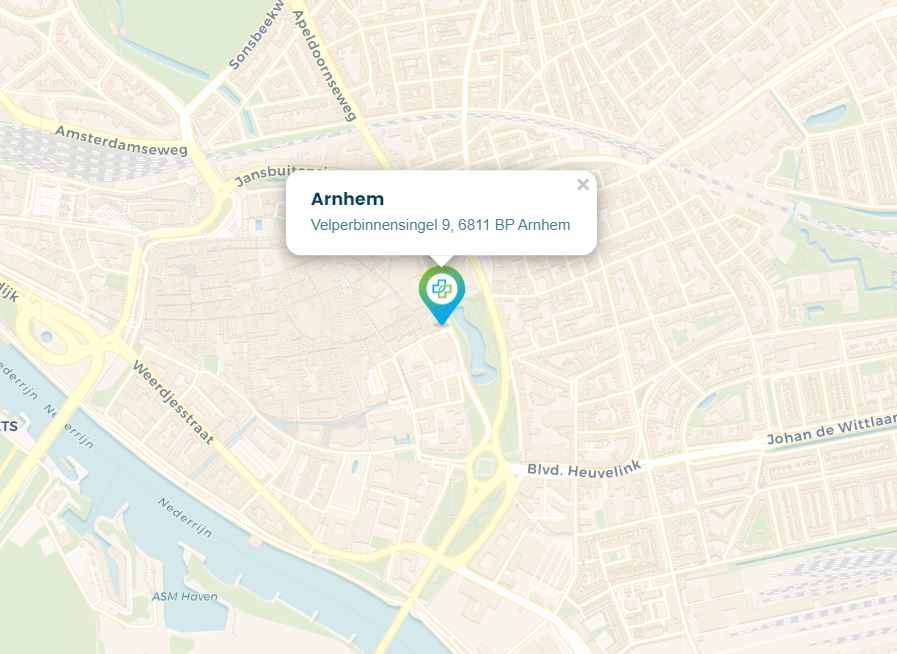 Coronatestlocatie Velperbinnensingel 9, 6811 BP Arnhem